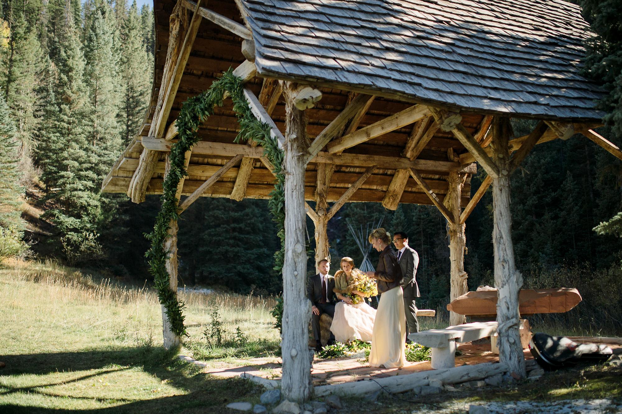 Dunton Hot Springs Wedding Photographer
