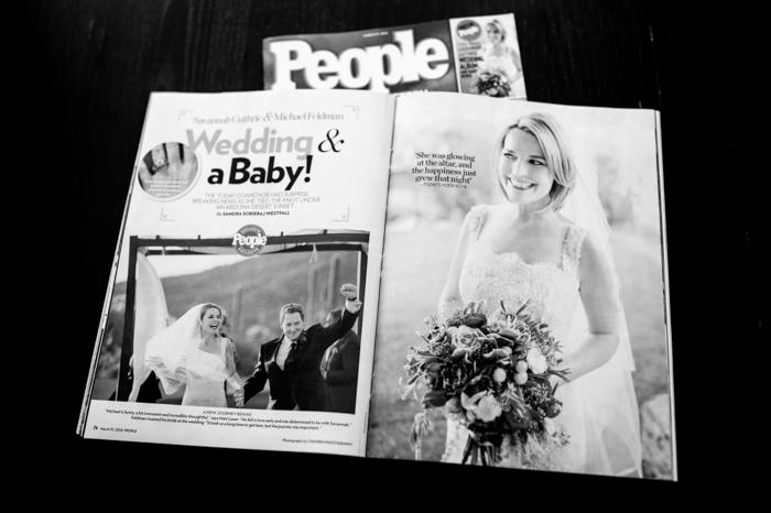 People Magazine Savannah Guthrie Wedding