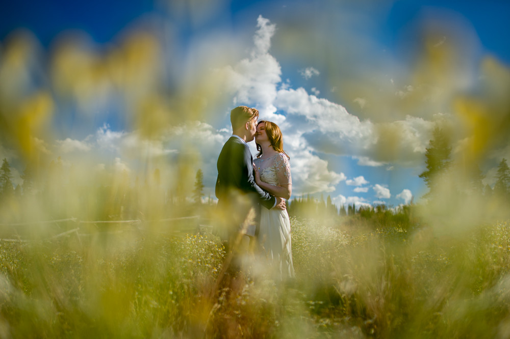 Sneak Peek: Landry & Jason : Devil's Thumb Ranch Wedding : Tabernash, Colorado