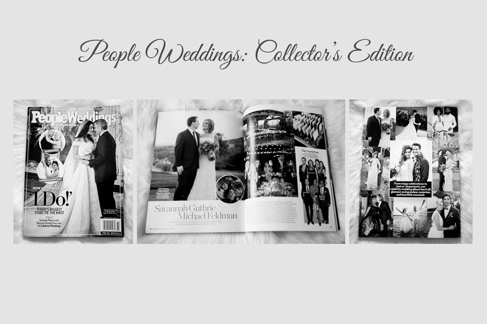Featured in People Magazine: People Weddings Collector's Edition ~ Arizona Luxury Wedding Photographers