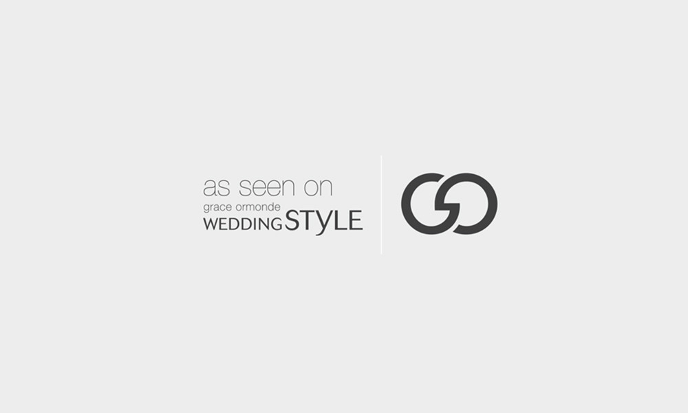 Featured on Grace Ormonde Wedding Style : NYC Luxury Wedding Photographers