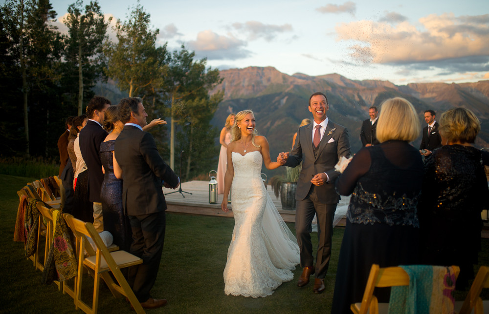 Brooke Werner + Chad Knaus Wedding {Sneak Peek} Telluride & Nascar Wedding Photographers
