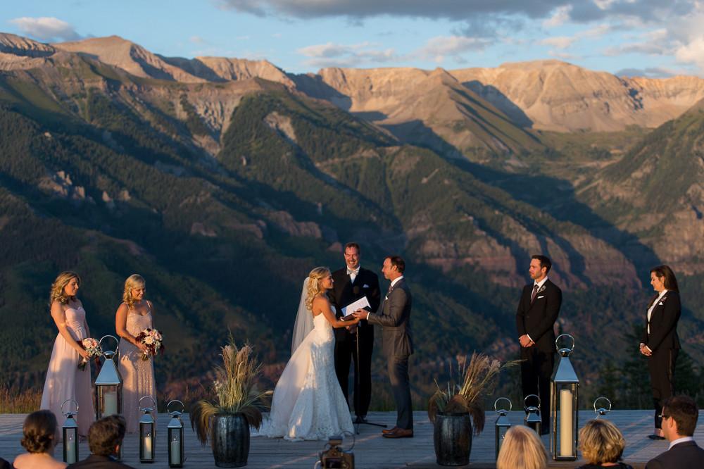 Brooke Werner & Chad Knaus : SAN SOPHIA TELLURIDE WEDDING
